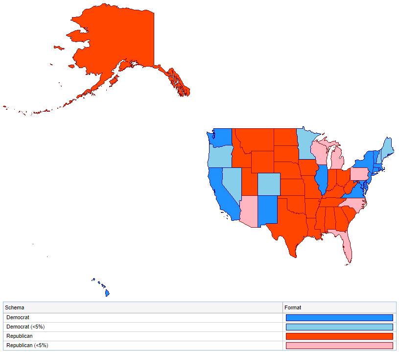 Integrating Google Maps Into Pipeline Pilot Reports Finia - Google-us-election-map